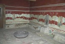 Knossos, Throne